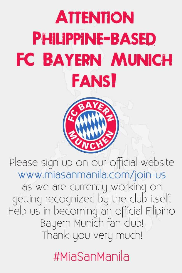CALL FOR MIASANMANILA FOLLOWERS