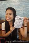 Guia's Bingo card.