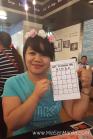 Jane's Bingo card.
